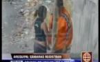 شاهد: انتقام امرأة امسكت زوجها وعشيقته متلبسان