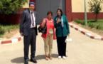 بن الشيخ والراخا وتباعمرانت في زيارة للمعتقلين السياسيين الأمازيغ