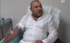 ملك المغرب يتبرع بالدم 