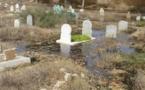 الواد الحار يغرق مقبرة الرحمة بتاوريرت والتي يرقد بها المستشار الملكي المرحوم مزيان بلفقيه