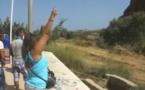 مشهد مؤثر جدا على الحدود المغربية الجزائرية السعيدية