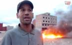 إحراق مزبلة امام سوق الجوطية والسكان يشتكون من هذا التصرف