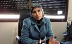 تعزية في وفاة والد  السيدة سعاد الادريسي رئيسة اللجنة الجهوية لحقوق الإنسان الحسيمة الناضو