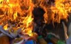 زايو : إحراق المواد الغذائية الفاسدة التي تم حجزها بأحد المتاجر