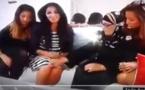 لقطة محرجة لفتاة مغربية على الهواء بسبب ملابسها القصيرة