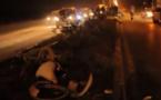 فيديو مروع لحادثة سير مباشرة بالناظور 16/11/2015