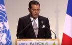 مولاي رشيد يلقي بالنيابة عن الملك خطاب قمة باريس
