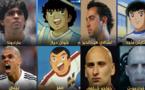 لاعب يشبهون شخصيات من الكرتون والأفلام