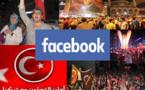الفيسبوك اشتغل باحداث تركيا : دعوات لاردوغان وتركيا تجتاح الموقع