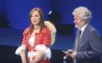 """الناظورية"""" يسرى طارق """" تتألق أمام صاحب السمو الملكي الأمير مولاي رشيد بالمؤتمر الأطراف لدول المتوسط حول المناخ"""