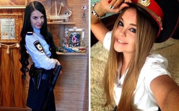 بالصور روسيا تطلق مسابقة لملكة جمال الشرطيات