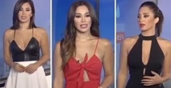 مذيعة عربية تثير الجدل والغضب بسبب ملابسها