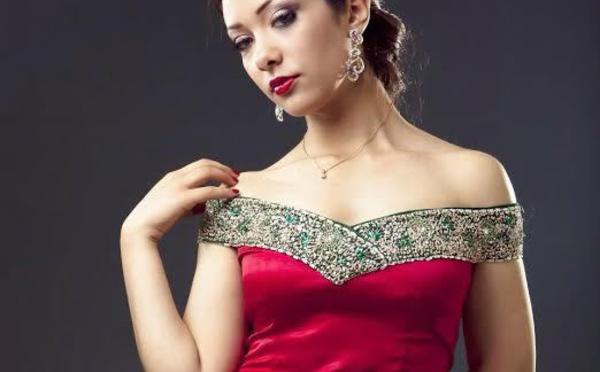 صفاء الطواش مغربية تنافس على لقب ملكة جمال العالم للإنسانية بجزيرة الباربادوس