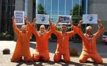 """حتجاجات أمام الاتحاد الأوروبي ببروكسل والبرلمان الهولندي للمطالبة بالحرية لمعتقلي""""حراك الريف"""""""