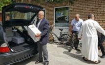 توزيع التمور على السجناء المسلمين بالسجون البلجيكية بمناسبة شهر رمضان المبارك.